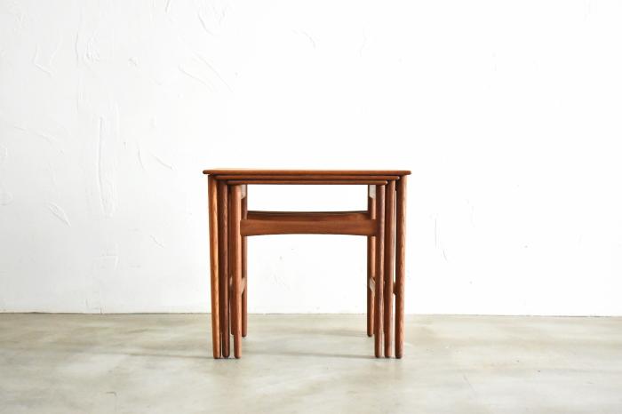 Hans J Wegner AT40 Nest Table