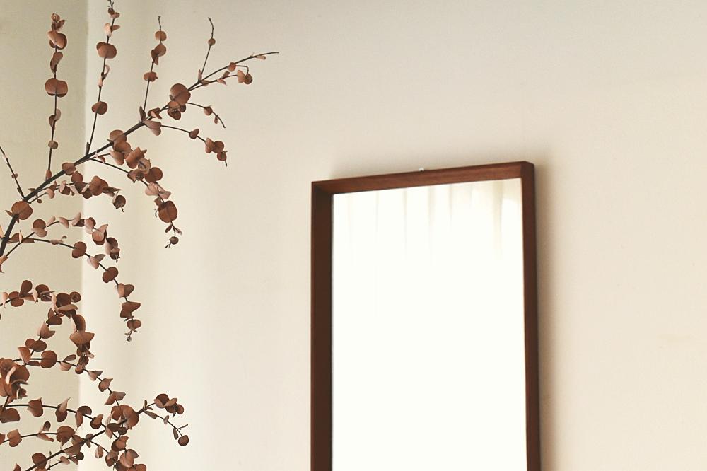 Mirror in Teak