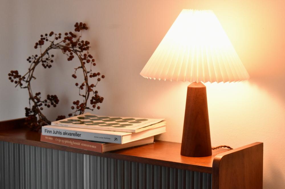 Table Lamp in Teak