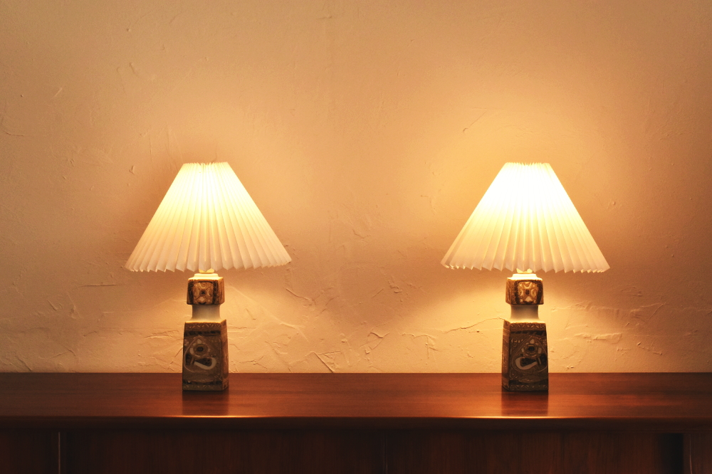 Royal Copenhagen Table Lamp 2set
